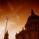 St Paul's Cathedral (Red), London by Chris Millar