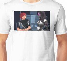 Mass Effect Cartoon - Tali Unisex T-Shirt