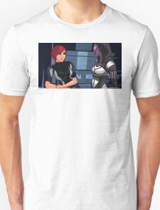 Mass Effect Cartoon - Tali T-Shirt