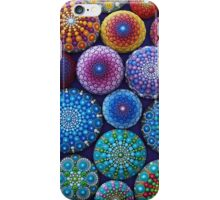 Rainbow Mandala Stone Collection iPhone Case/Skin