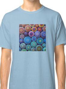 Rainbow Mandala Stone Collection Classic T-Shirt