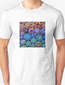 Rainbow Mandala Stone Collection Unisex T-Shirt