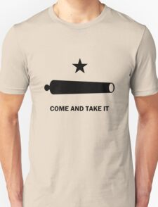 Come and take it flag geek funny nerd Unisex T-Shirt