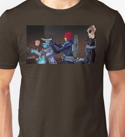 Mass Effect Cartoon - An Attack on the Cerberus Base Unisex T-Shirt