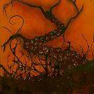 Spooky Halloween Tree by Neoran
