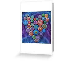 Love Rocks Mandala Stone Collection by Elspeth McLean Greeting Card