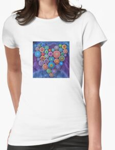 Love Rocks Mandala Stone Collection by Elspeth McLean Womens Fitted T-Shirt