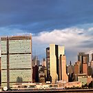 Manhattan Morning Skyline by Dave Bledsoe