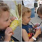 Two grand kids at the Olmstead County Fair by Nanagahma