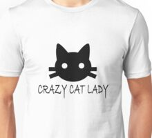 Crazy cat lady funny nerd Unisex T-Shirt