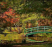 A Quiet Afternoon in the Garden by Scott Mitchell