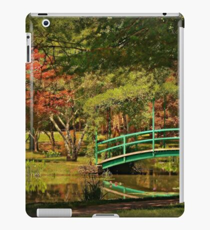 A Quiet Afternoon in the Garden iPad Case/Skin