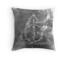 You're a wizard, Harry - Deathly Hallows Version Throw Pillow