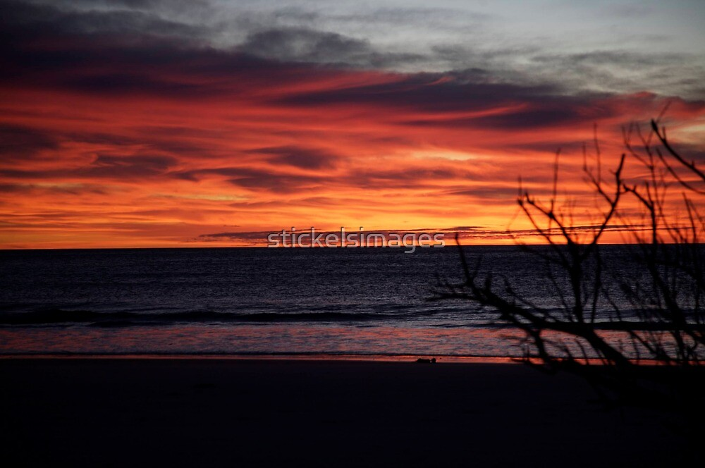 skyscapes #55, ablaze by stickelsimages