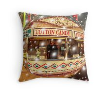 Blowing Bubbles ! Throw Pillow