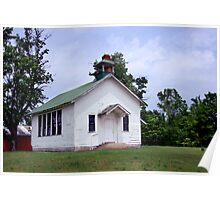 One Room Schoolhouse, circa 1900 Poster