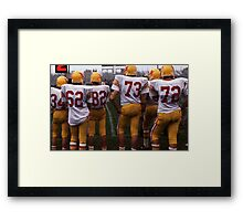 Something for the Girls Who Like Sports Framed Print
