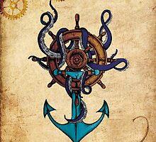 Steampunk Anchor by Bro-Sis