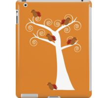 Five Thanksgiving Turkeys in a Tree iPad Case/Skin