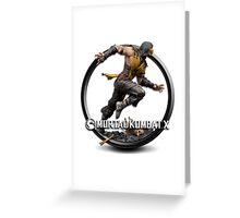 Mortal Kombat X Greeting Card
