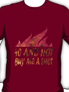 Funny 40th birthday geek funny nerd T-Shirt