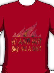 Funny 40th birthday geek funny nerd T-Shirt