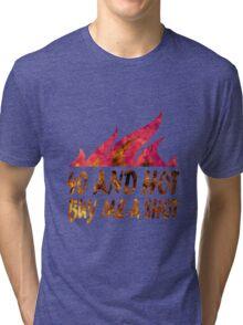 Funny 40th birthday geek funny nerd Tri-blend T-Shirt