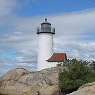 Annisquam Lighthouse by Monnie Ryan