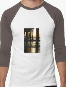 Under The Boardwalk  Men's Baseball ¾ T-Shirt