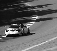 BMW M3 ALMS GT2 Panning Mosport Monochrome III by LongbowX