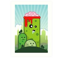 Lobotomy Hill Art Print