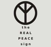 The Real Peace Sign by kotoro