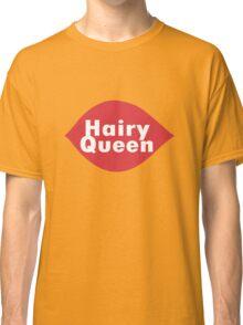 Hairy queen parody logo geek funny nerd Classic T-Shirt