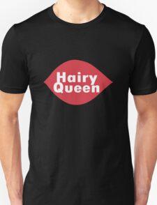 Hairy queen parody logo geek funny nerd T-Shirt