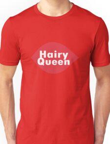Hairy queen parody logo geek funny nerd Unisex T-Shirt
