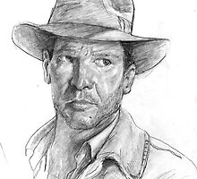 Indiana Jones Sketch by brimax