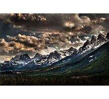 Alberta Rockies Photographic Print