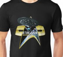 StarTrek Enterprise 1701 D Com badge 2 Unisex T-Shirt