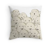 not fat...collecting Adipose Throw Pillow