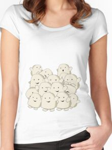 not fat...collecting Adipose Women's Fitted Scoop T-Shirt
