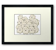 not fat...collecting Adipose Framed Print
