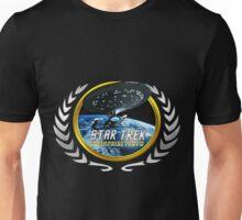 Star trek Federation of Planets Enterprise 1701 D  2 Unisex T-Shirt