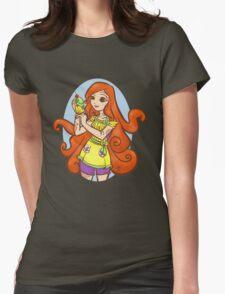 Cupcake Cthulu Womens Fitted T-Shirt