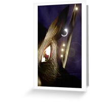 Oryctolah Greeting Card