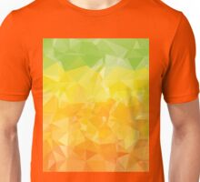 Green Yellow Orange Polygons  Unisex T-Shirt