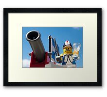 FIRE, and bring me some more port Framed Print