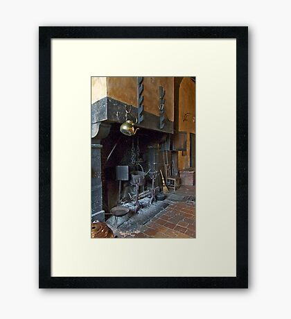 Country Hearth Framed Print