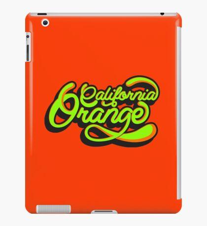 California Orange  iPad Case/Skin