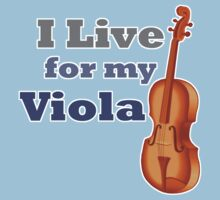 I Live for My Viola by evisionarts