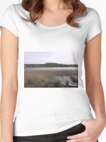 Dunfanaghy Donegal - Ireland Women's Fitted Scoop T-Shirt